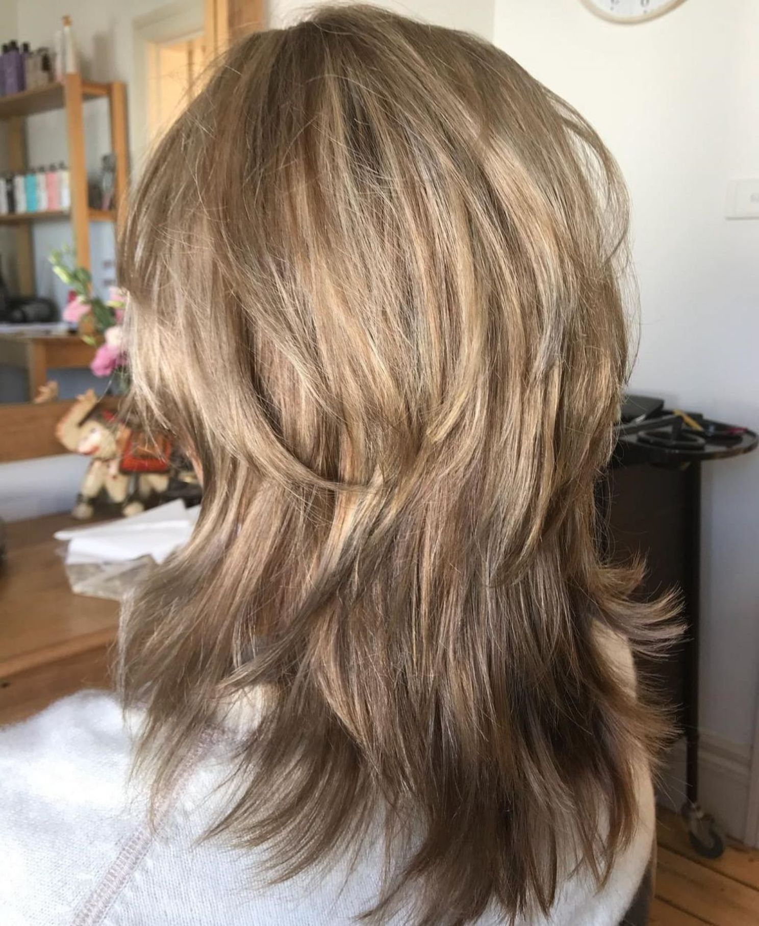 60 Lovely Long Shag Haircuts For Effortless Stylish Looks Pertaining To Famous Long Black Haircuts With Light Flipped Up Ends (View 2 of 20)