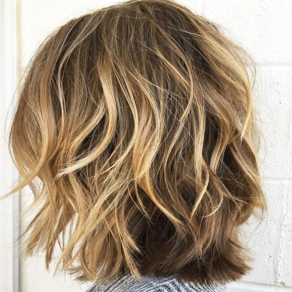 60 Most Beneficial Haircuts For Thick Hair Of Any Length In Throughout Latest Blonde Lob Hairstyles With Disconnected Jagged Layers (View 5 of 20)
