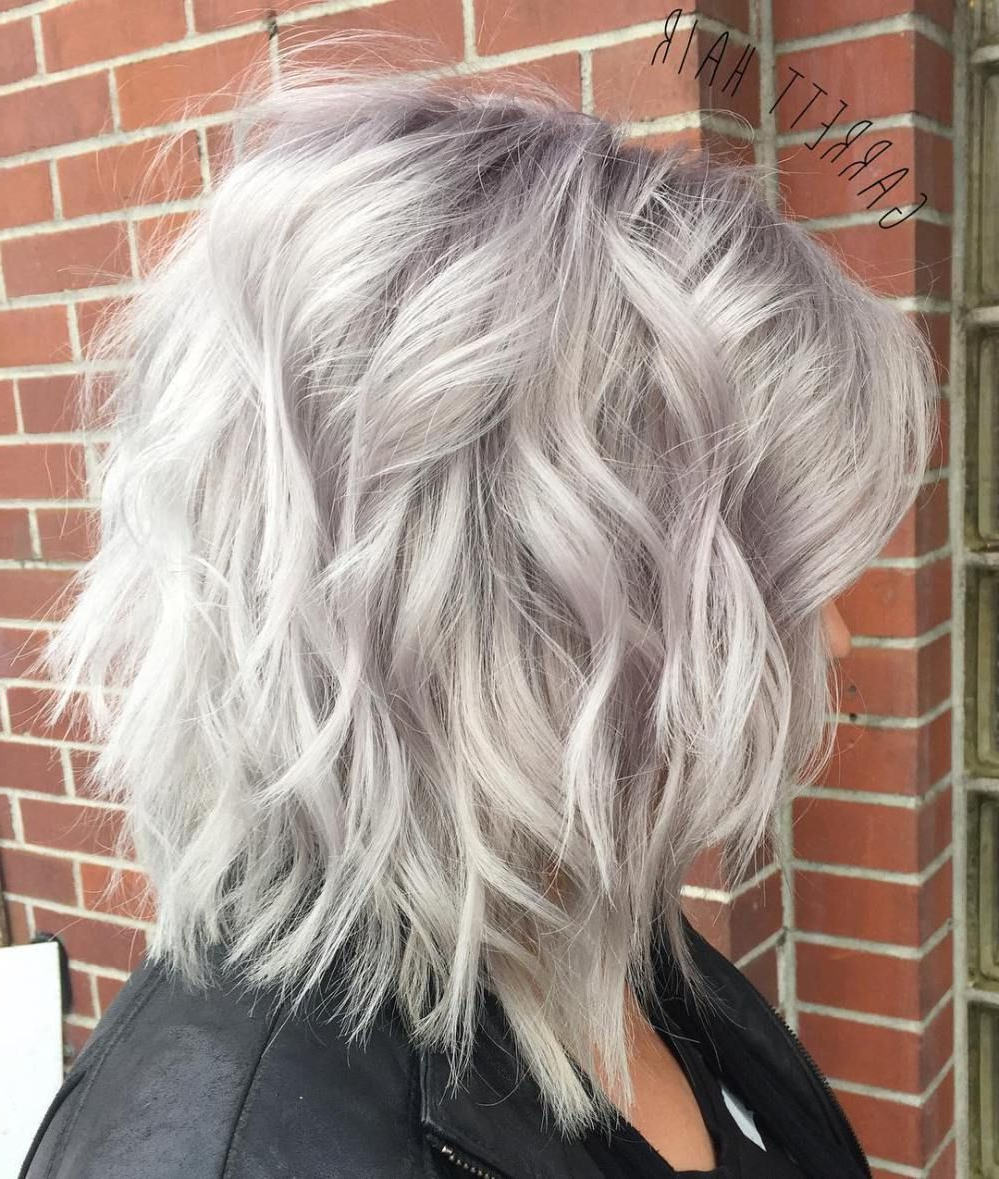 60 Most Beneficial Haircuts For Thick Hair Of Any Length In With Regard To Silver White Shaggy Haircuts (View 3 of 20)