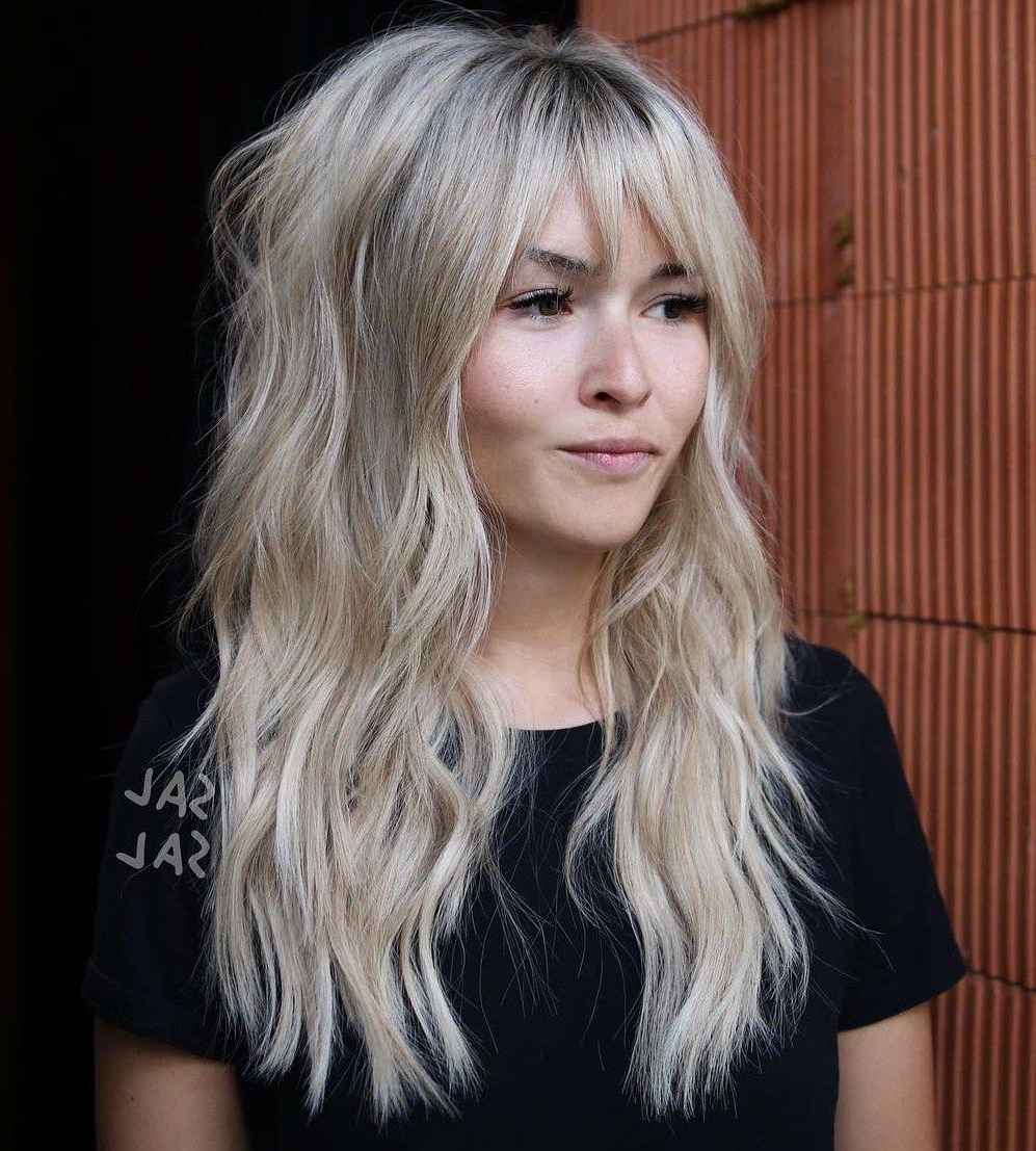 60 Most Universal Modern Shag Haircut Solutions De 2019 Intended For Most Current Ash Brown Long Razored Shag Haircuts (Gallery 7 of 20)