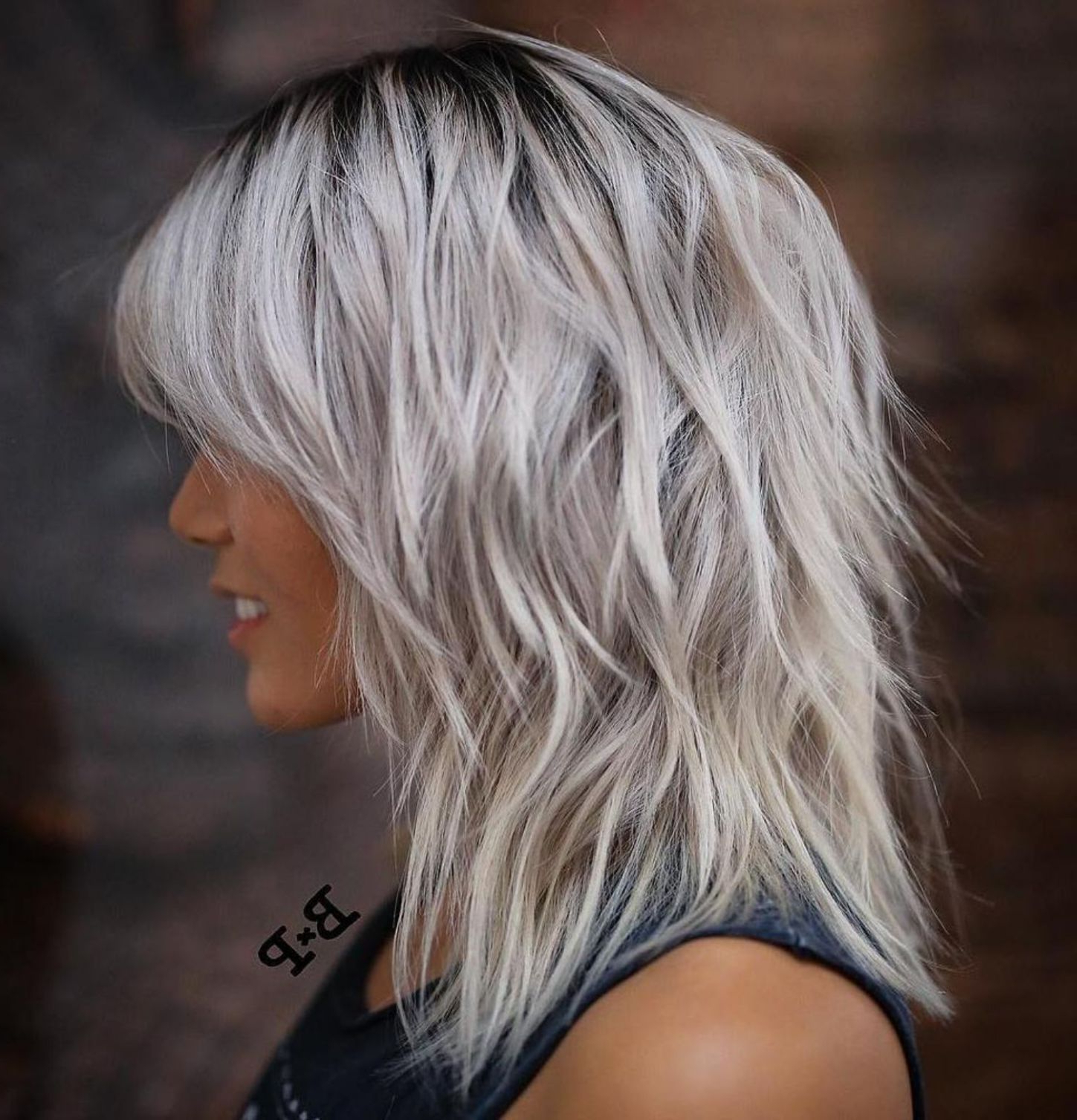 Featured Photo of Medium Silver Layers Hairstyles