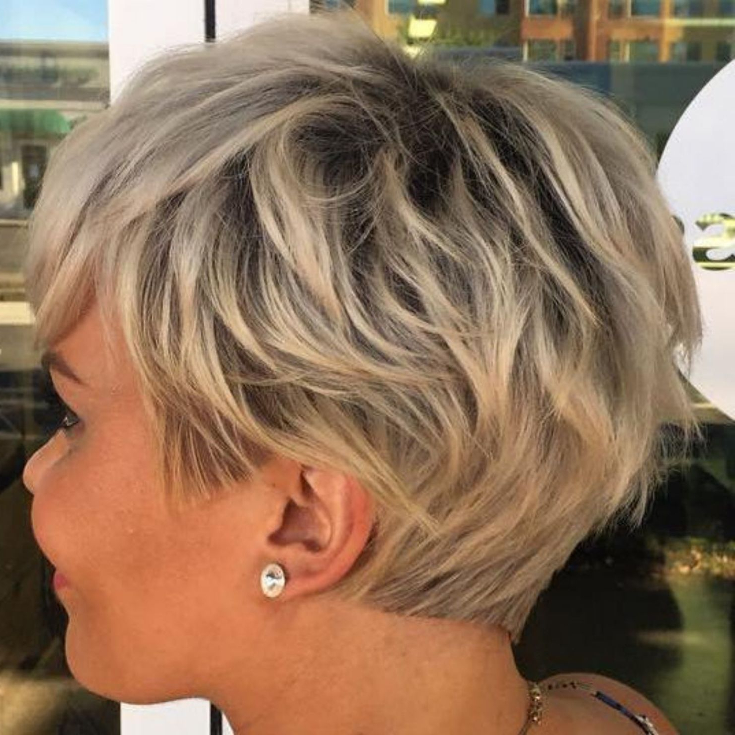 60 Short Shag Hairstyles That You Simply Can't Miss | Girlie Pertaining To Short Shag Blunt Haircuts (View 3 of 20)