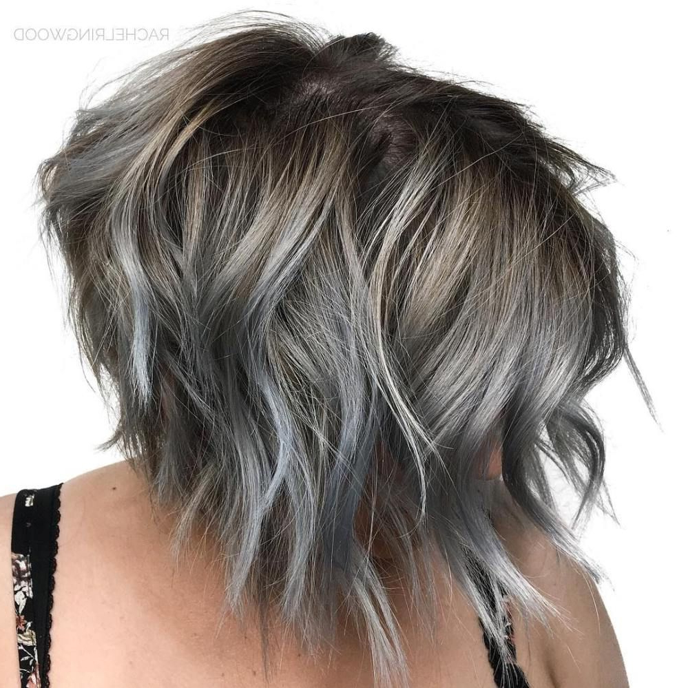 60 Short Shag Hairstyles That You Simply Can't Miss | Hair In Disconnected Shaggy Brunette Bob Hairstyles (Gallery 5 of 20)