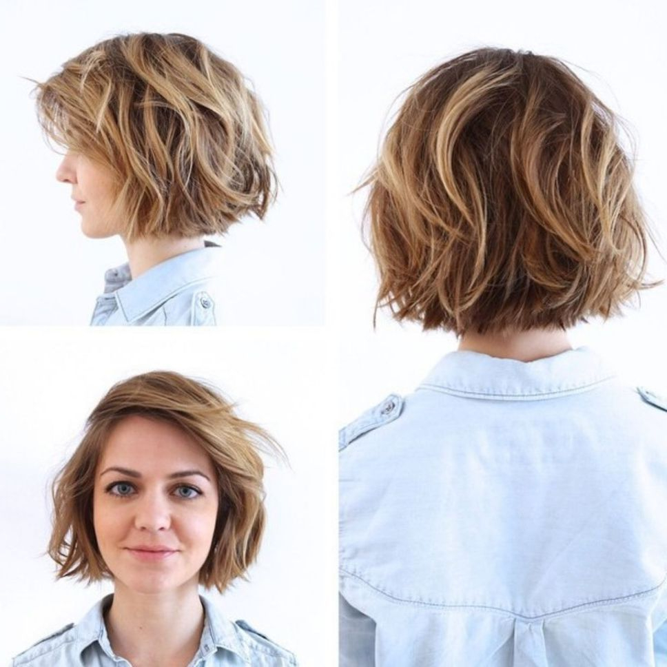 60 Short Shag Hairstyles That You Simply Can't Miss | Hair In Longer Waves Shag Haircuts (Gallery 3 of 20)