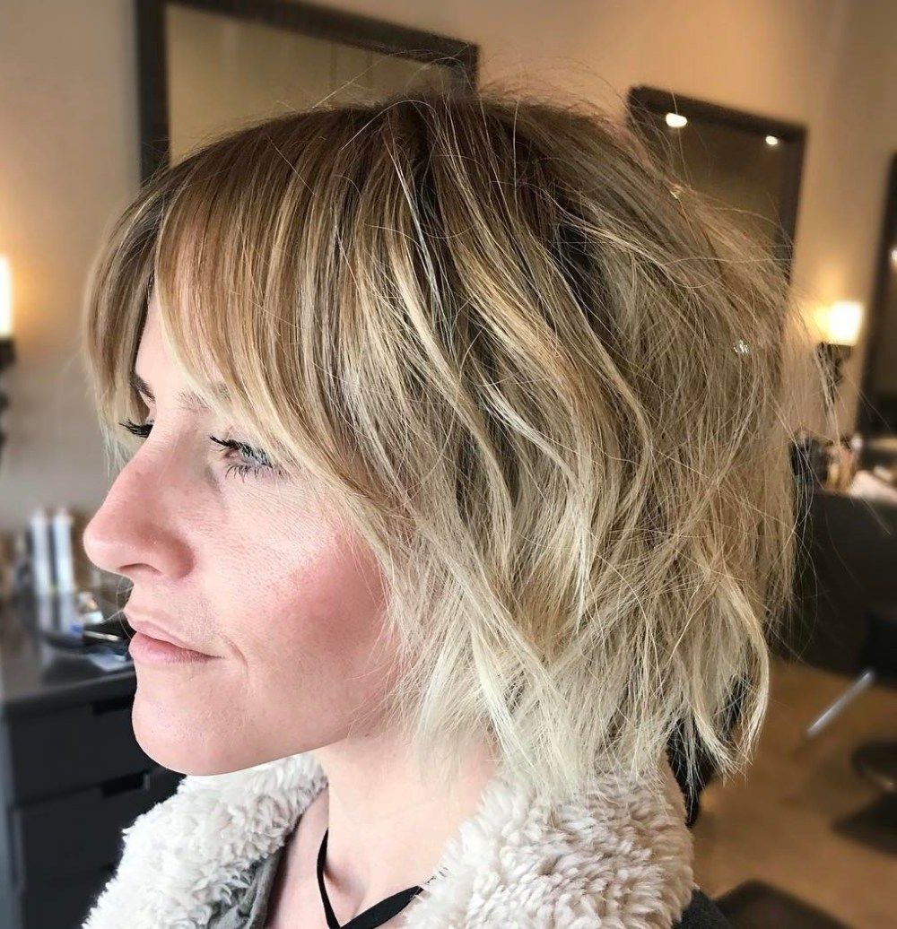 60 Short Shag Hairstyles That You Simply Can't Miss | Hair In Short Highlighted Shaggy Haircuts (View 2 of 20)
