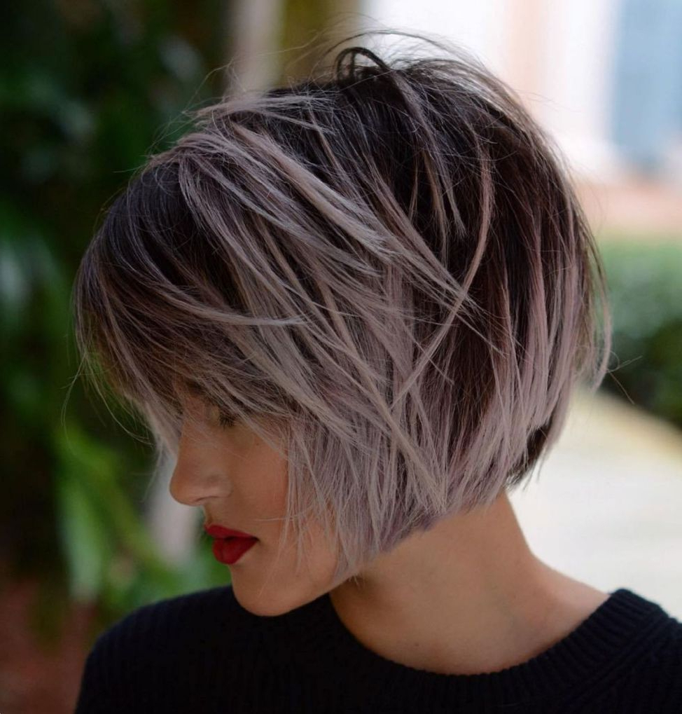 60 Short Shag Hairstyles That You Simply Can't Miss | Hair With Regard To Short Shag Haircuts With Purple Highlights (View 11 of 20)