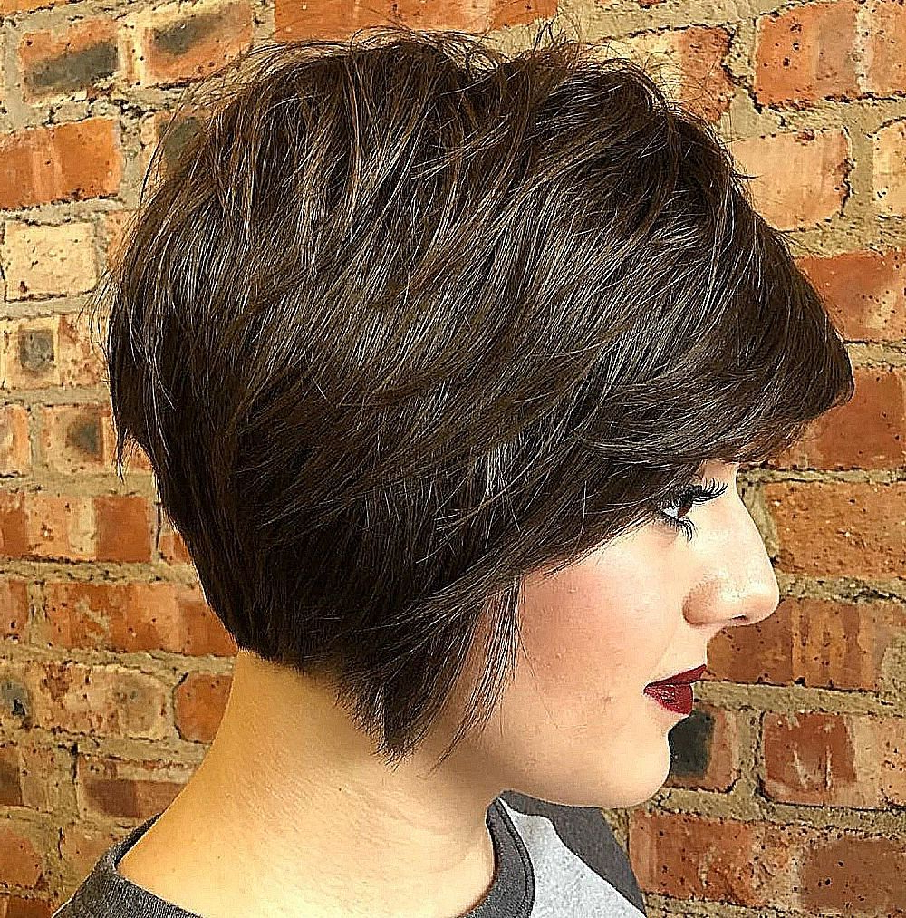 60 Short Shag Hairstyles That You Simply Can't Miss | Hair Within Dusty Lavender Short Shag Haircuts (Gallery 3 of 20)
