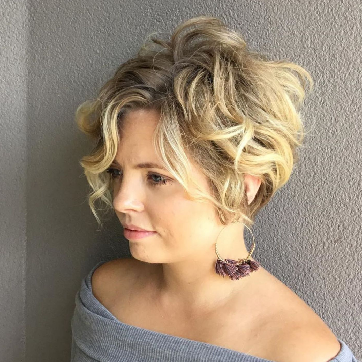 60 Short Shag Hairstyles That You Simply Can't Miss In 2019 Intended For Shaggy Blonde Bob Hairstyles With Bangs (View 9 of 20)