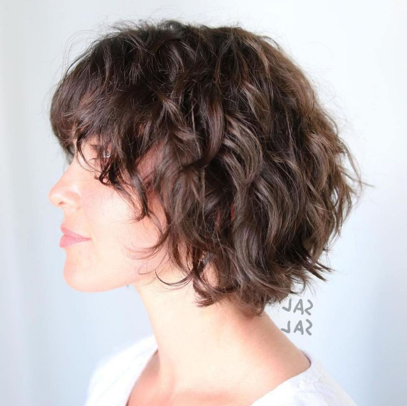 60 Short Shag Hairstyles That You Simply Can't Miss In 2019 Intended For Short Shag Haircuts With Sass (Gallery 2 of 20)