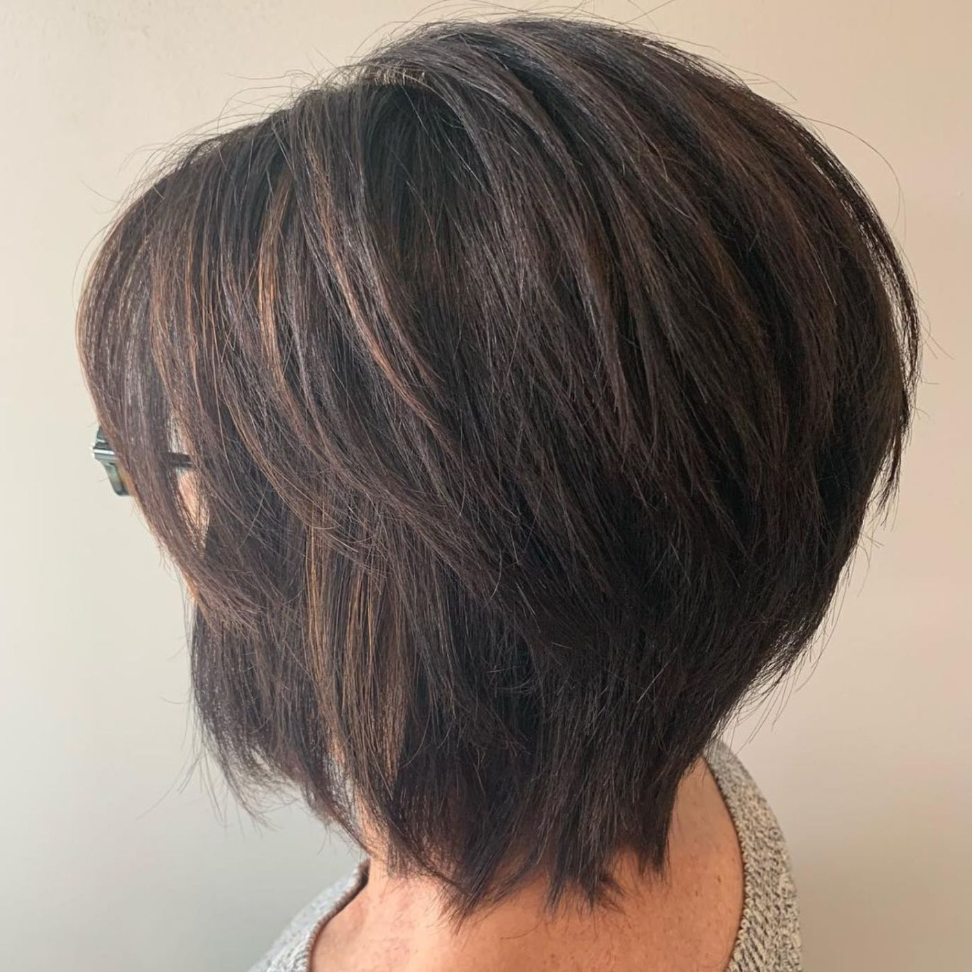 Featured Photo of Razored Two Layer Bob Hairstyles For Thick Hair