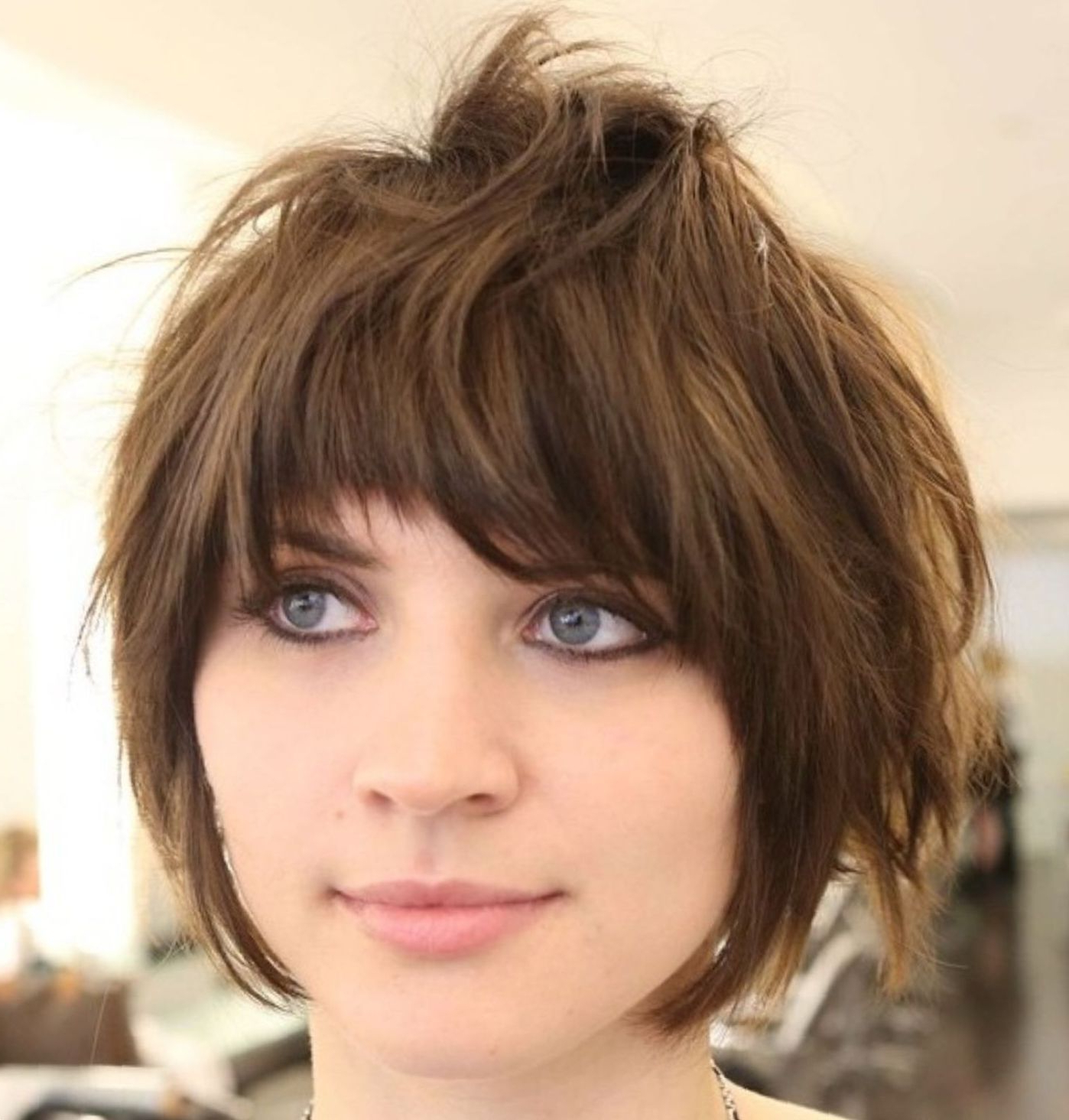 60 Short Shag Hairstyles That You Simply Can't Miss In 2019 Throughout Short Shag Bob Haircuts (View 8 of 20)