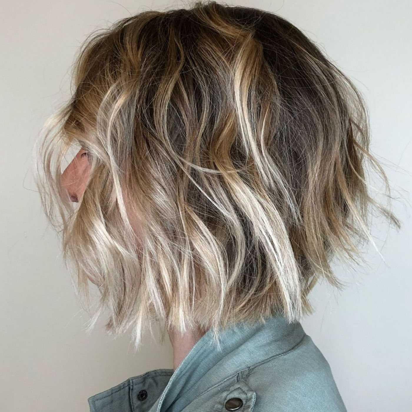 60 Short Shag Hairstyles That You Simply Can't Miss In 2019 With Regard To Bronde Bob Shag Haircuts With Short Back (View 3 of 20)