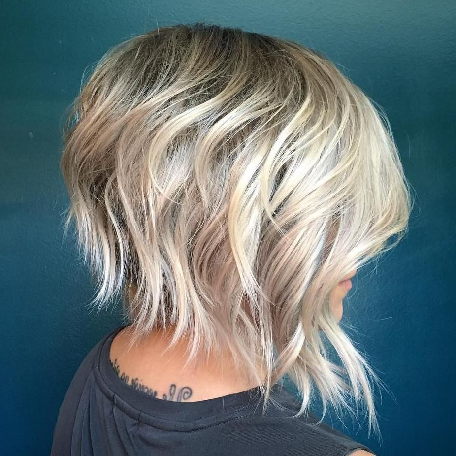 60 Short Shag Hairstyles That You Simply Can't Miss Regarding Waves Of Color Shag Haircuts (Gallery 3 of 20)