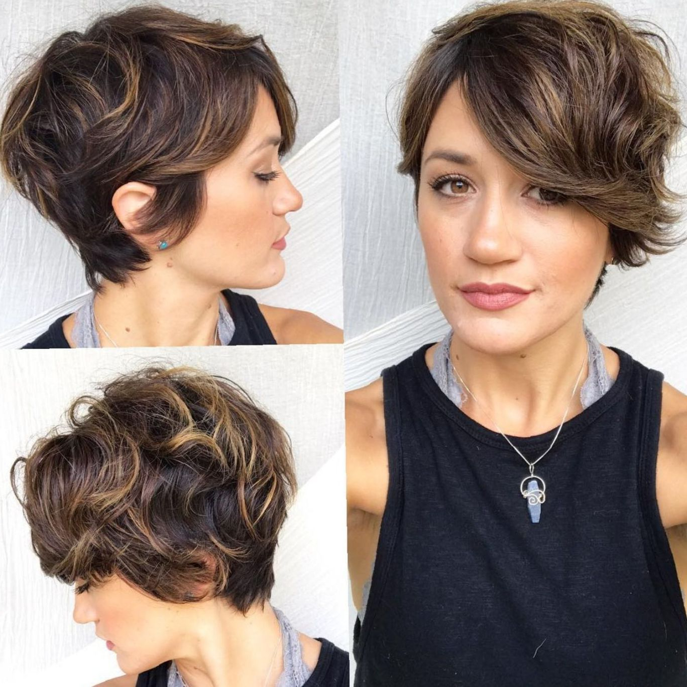 60 Short Shag Hairstyles That You Simply Can't Miss | Short Inside Short Shag Haircuts With Sass (View 5 of 20)