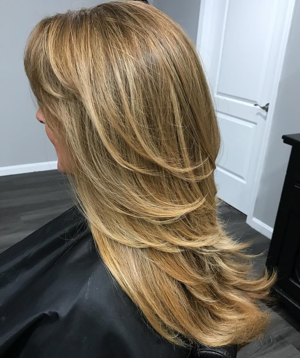 60 Trendiest Hairstyles And Haircuts For Women Over 50 In 2019 Intended For Famous Medium Haircuts With Flipped Ends For Thick Hair (View 14 of 20)