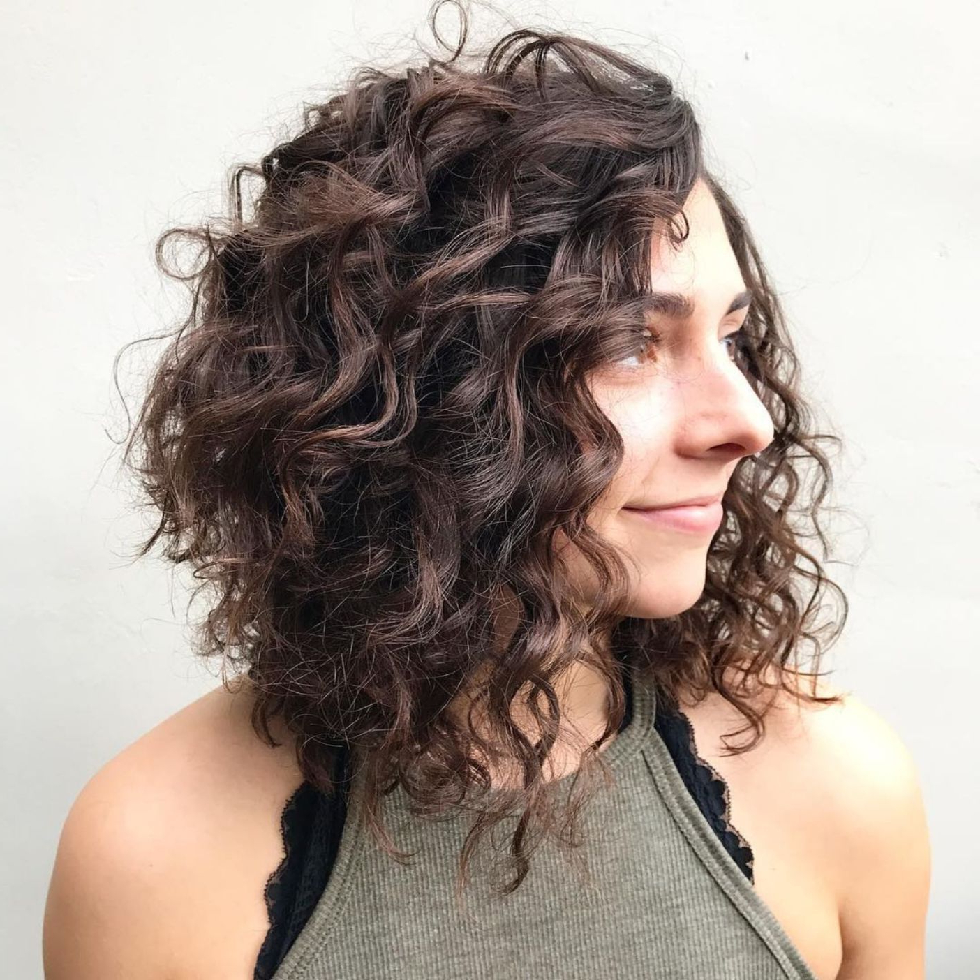 65 Different Versions Of Curly Bob Hairstyle In 2019 | Curly For Textured Curly Bob Haircuts (View 5 of 20)