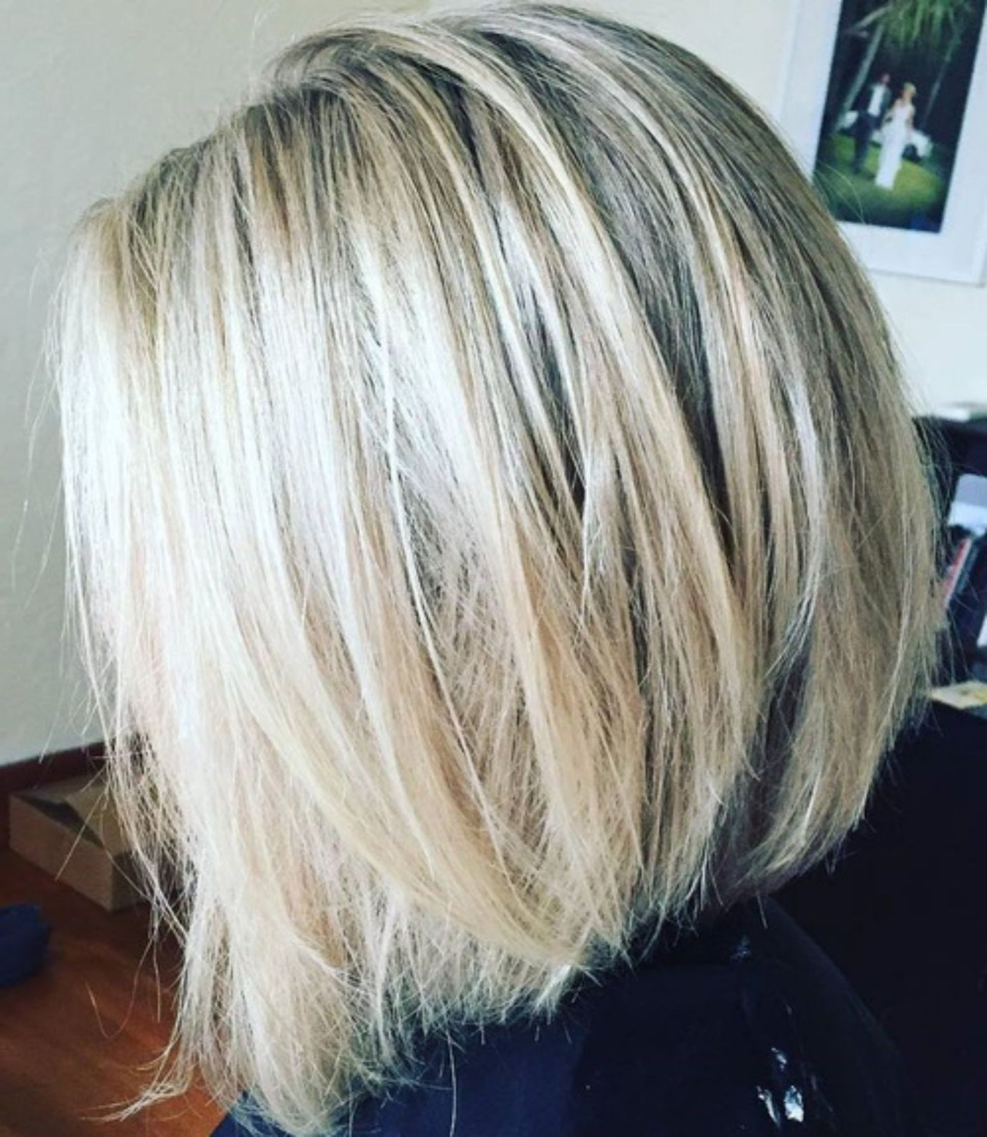 70 Best A Line Bob Hairstyles Screaming With Class And Style Inside Choppy Ash Blonde Bob Hairstyles (View 7 of 20)