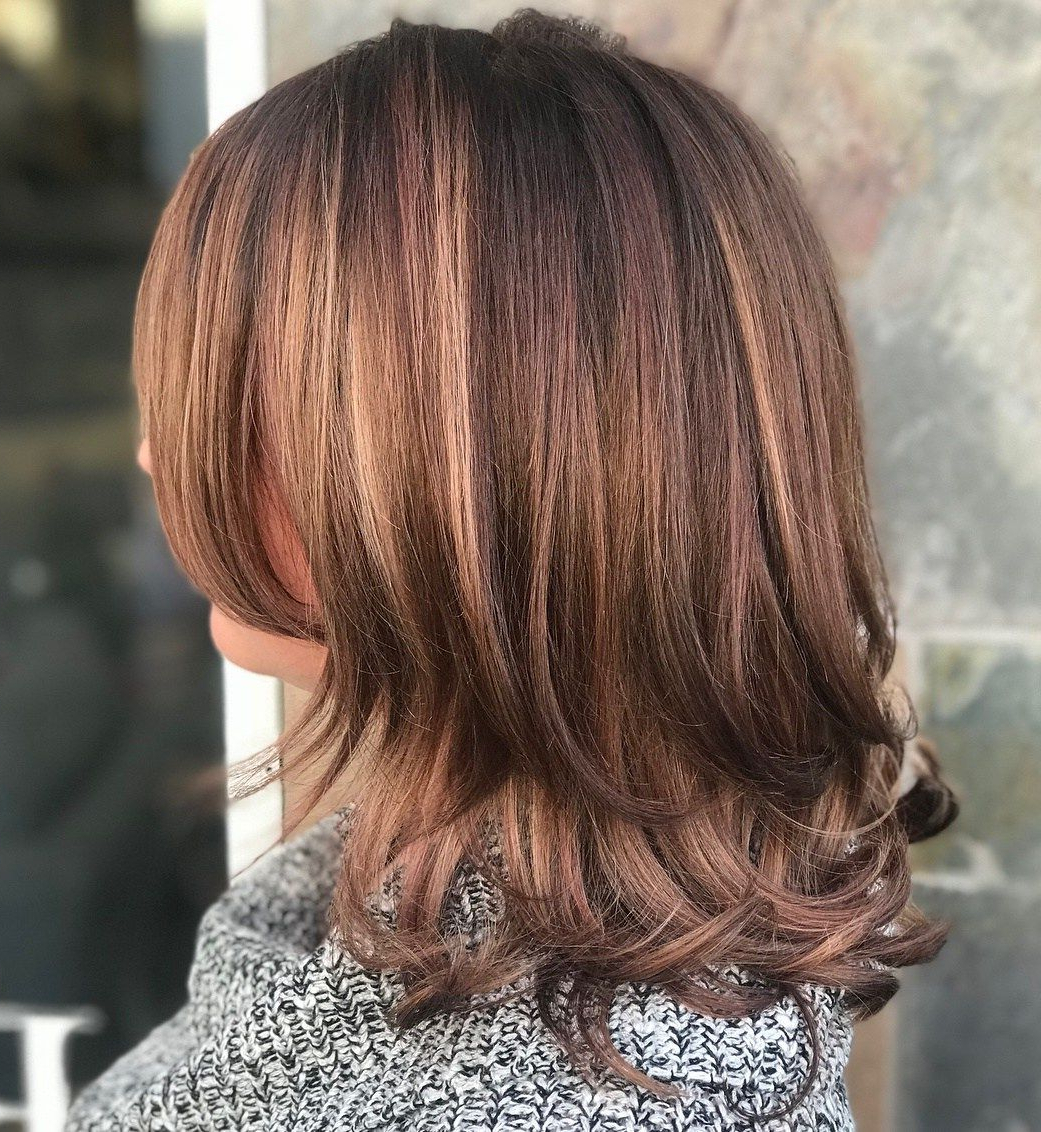 70 Brightest Medium Layered Haircuts To Light You Up Within Well Liked Medium Two Layer Haircuts (Gallery 6 of 20)