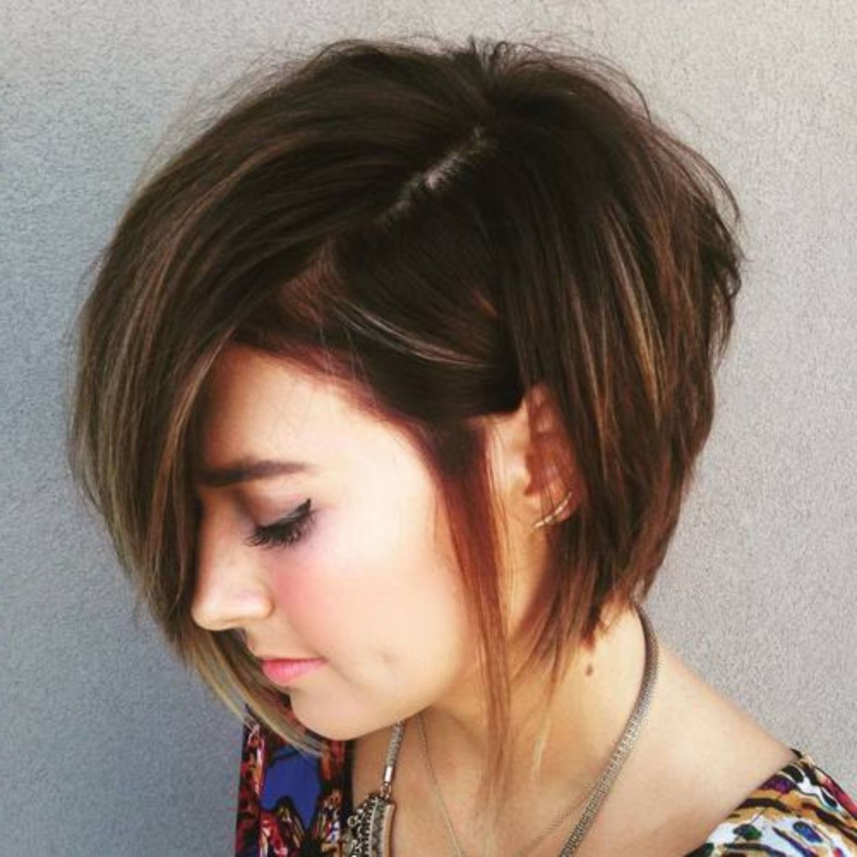 70 Cute And Easy To Style Short Layered Hairstyles | Hair Pertaining To Asymmetrical Grunge Bob Hairstyles (View 5 of 20)