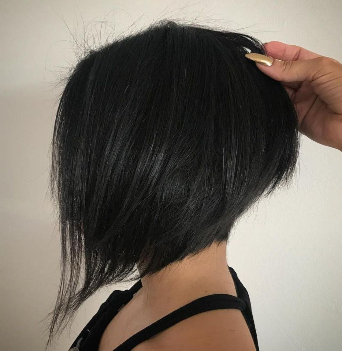 70 Cute And Easy To Style Short Layered Hairstyles In 2019 Within Steeply Angled Razored Asymmetrical Bob Hairstyles (Gallery 3 of 20)