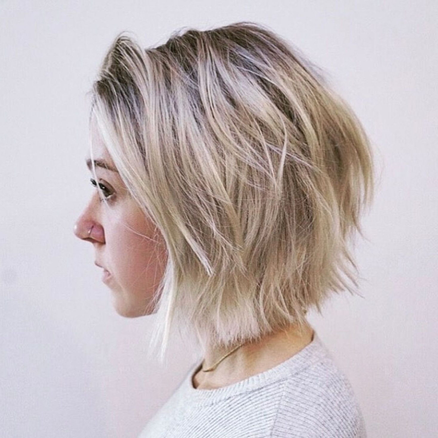 70 Fabulous Choppy Bob Hairstyles | Bob Haircuts In 2019 For Choppy Ash Blonde Bob Hairstyles (Gallery 11 of 20)