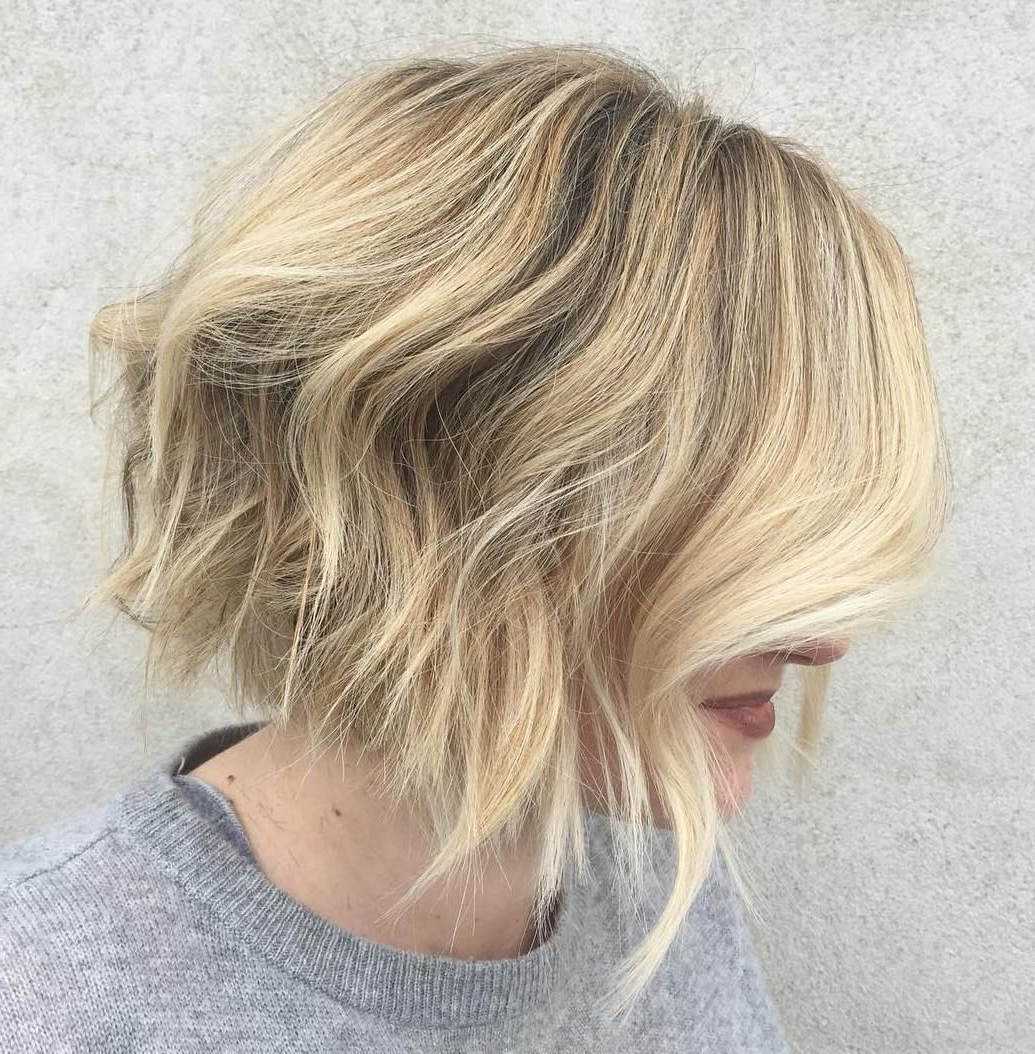 70 Fabulous Choppy Bob Hairstyles | Hair | Choppy Bob Within Choppy Bob Hairstyles With Blonde Ends (Gallery 2 of 20)