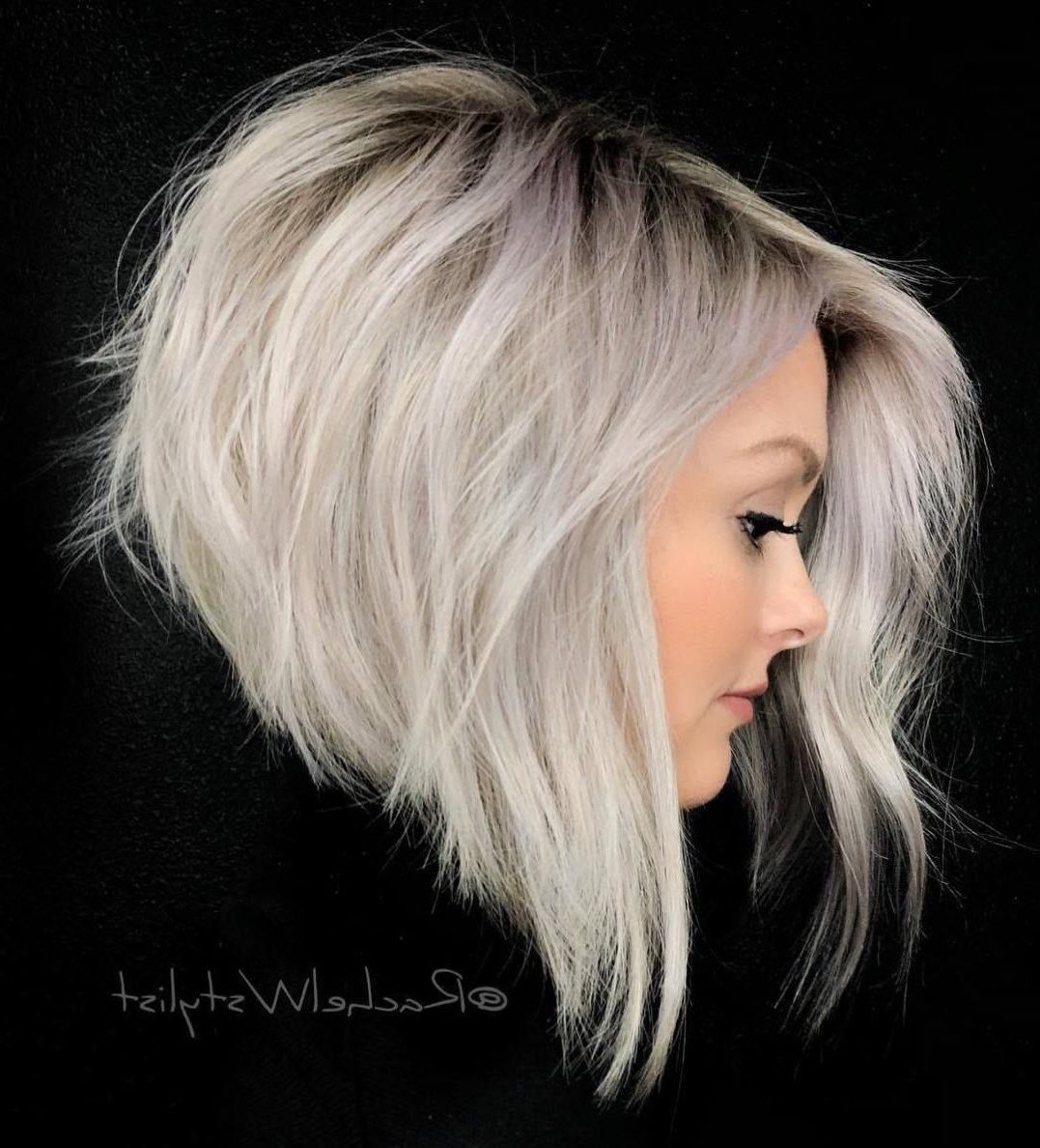 70 Overwhelming Ideas For Short Choppy Haircuts | Diy Inside Steeply Angled Razored Asymmetrical Bob Hairstyles (View 14 of 20)