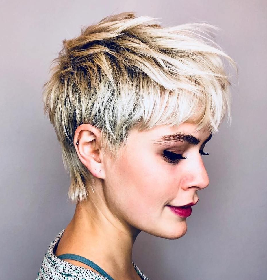 70 Overwhelming Ideas For Short Choppy Haircuts In 2019 In Short Shag Haircuts With Sass (Gallery 1 of 20)