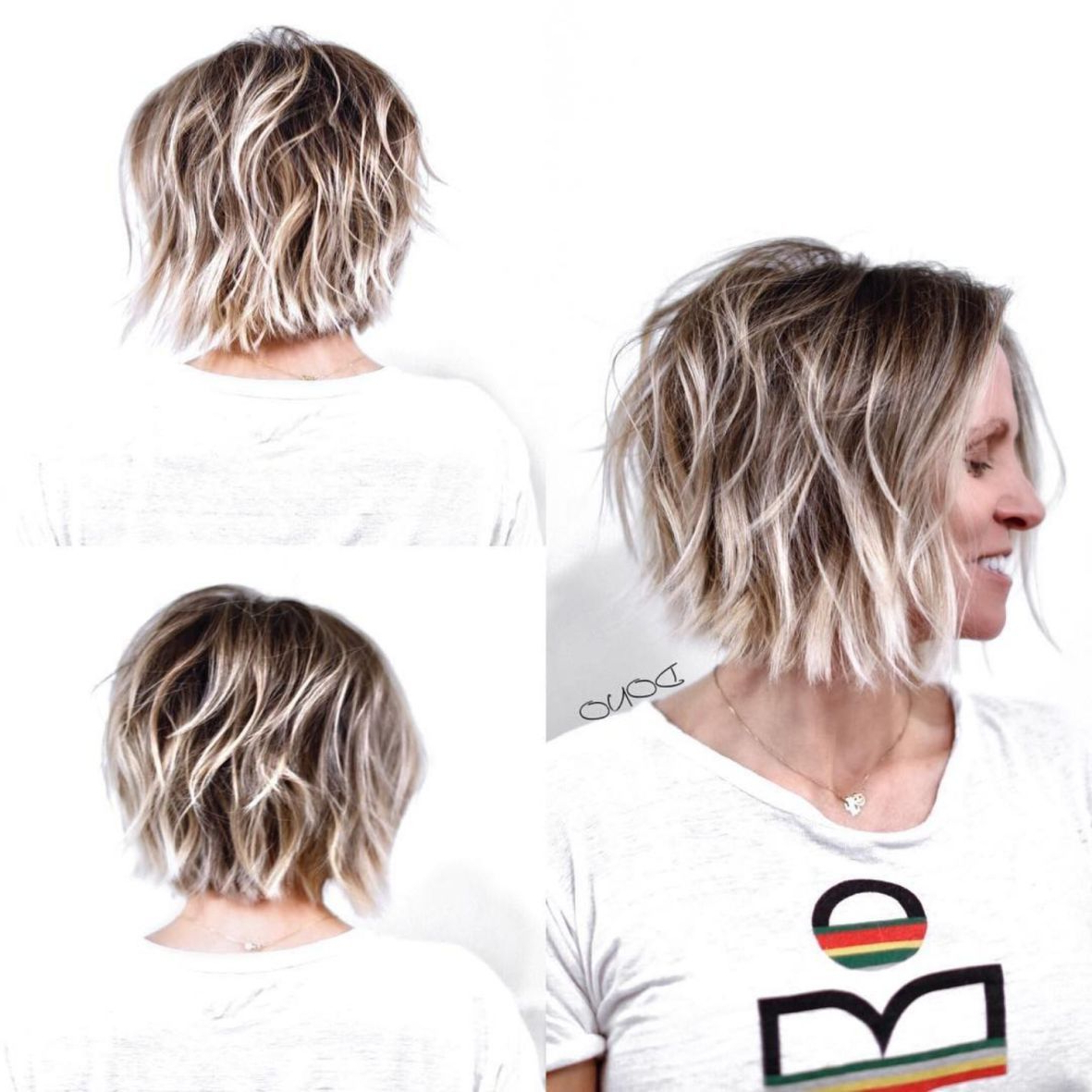 70 Overwhelming Ideas For Short Choppy Haircuts In 2019 Pertaining To Widely Used Curly Bronde Haircuts With Choppy Ends (Gallery 20 of 20)