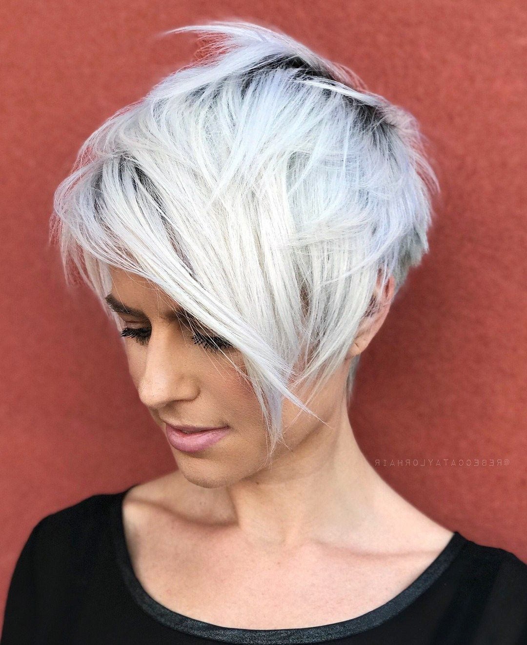 70 Overwhelming Ideas For Short Choppy Haircuts | Short Hair With Regard To Long Pixie Haircuts With Angled Layers (View 3 of 20)