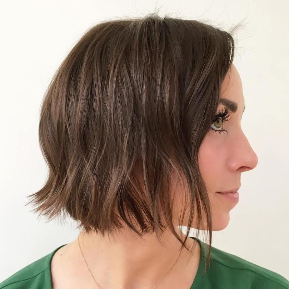 70 Winning Looks With Bob Haircuts For Fine Hair | Hair And With Matte Shaggy Bob Hairstyles (View 12 of 20)