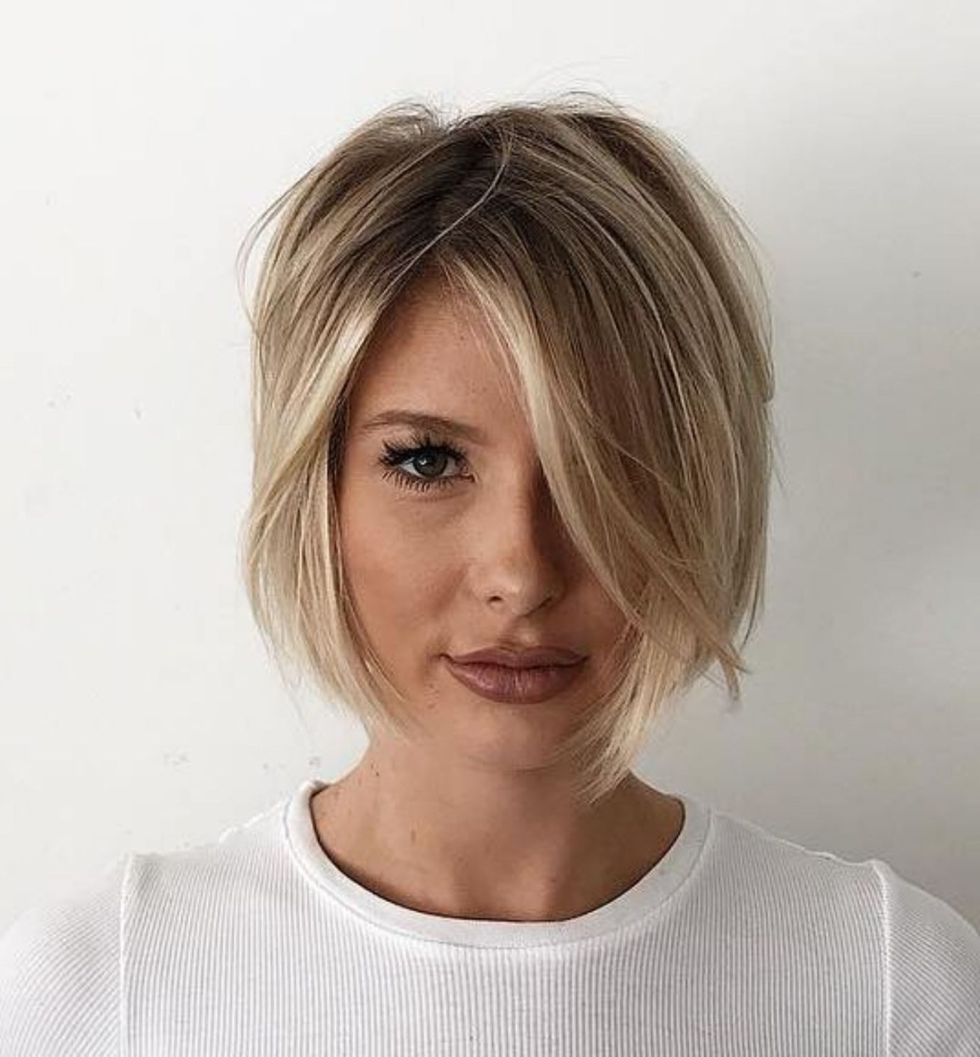 70 Winning Looks With Bob Haircuts For Fine Hair In 2019 Within Asymmetrical Shaggy Bob Hairstyles (View 10 of 20)