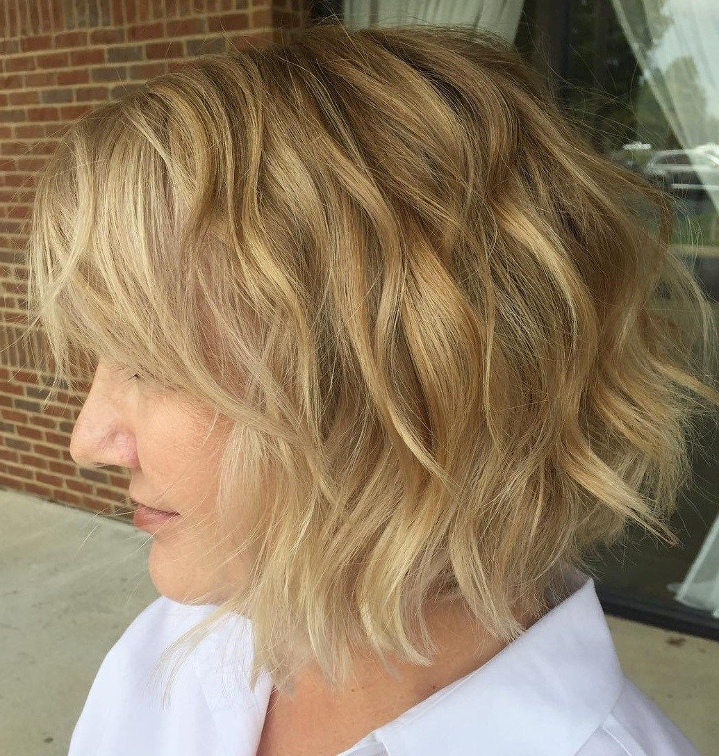 80 Best Modern Hairstyles And Haircuts For Women Over 50 In With Regard To Layered Haircuts With Delicate Feathers (View 7 of 20)