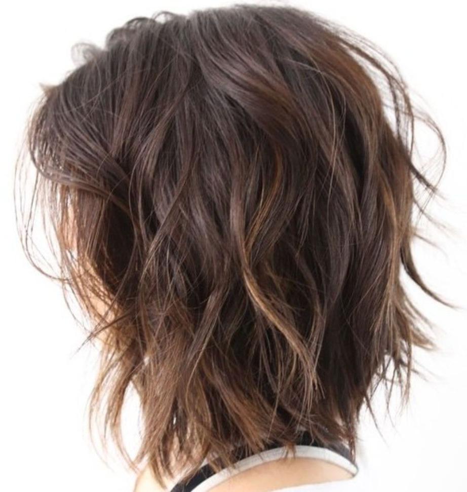 80 Sensational Medium Length Haircuts For Thick Hair | Hair Throughout Shoulder Length Choppy Hairstyles (View 10 of 20)