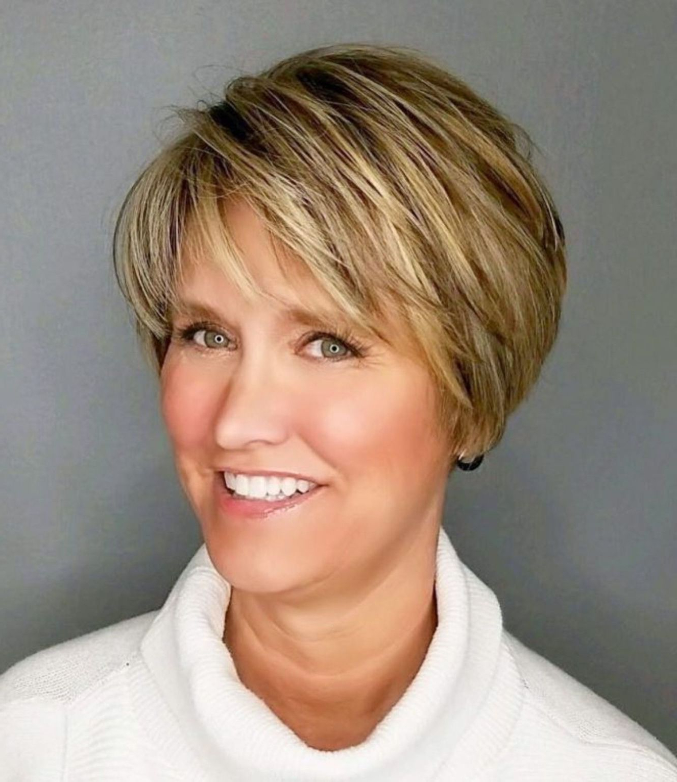 90 Classy And Simple Short Hairstyles For Women Over 50 In For Short Feathered Hairstyles (View 2 of 20)
