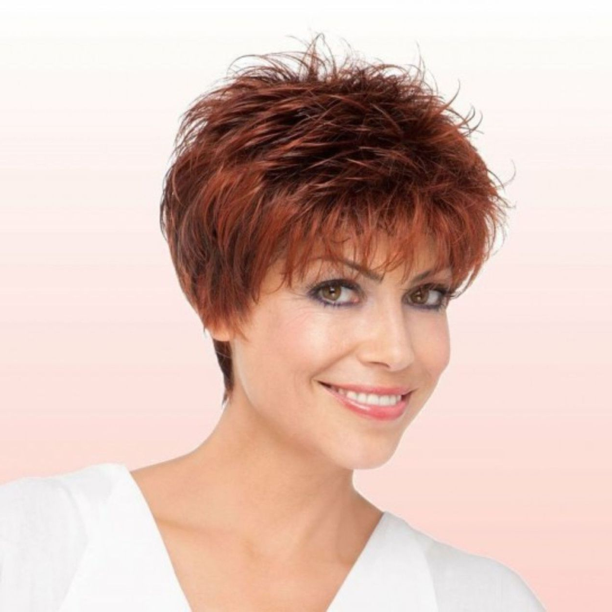 90 Classy And Simple Short Hairstyles For Women Over 50 Within Short Feathered Hairstyles (View 3 of 20)