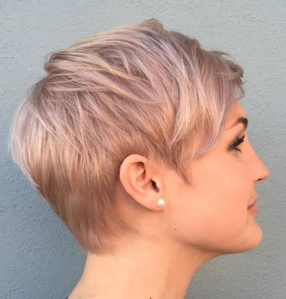 97 Pixie Cut Blond | Bonoblog In Edgy Ash Blonde Pixie Haircuts (View 12 of 20)