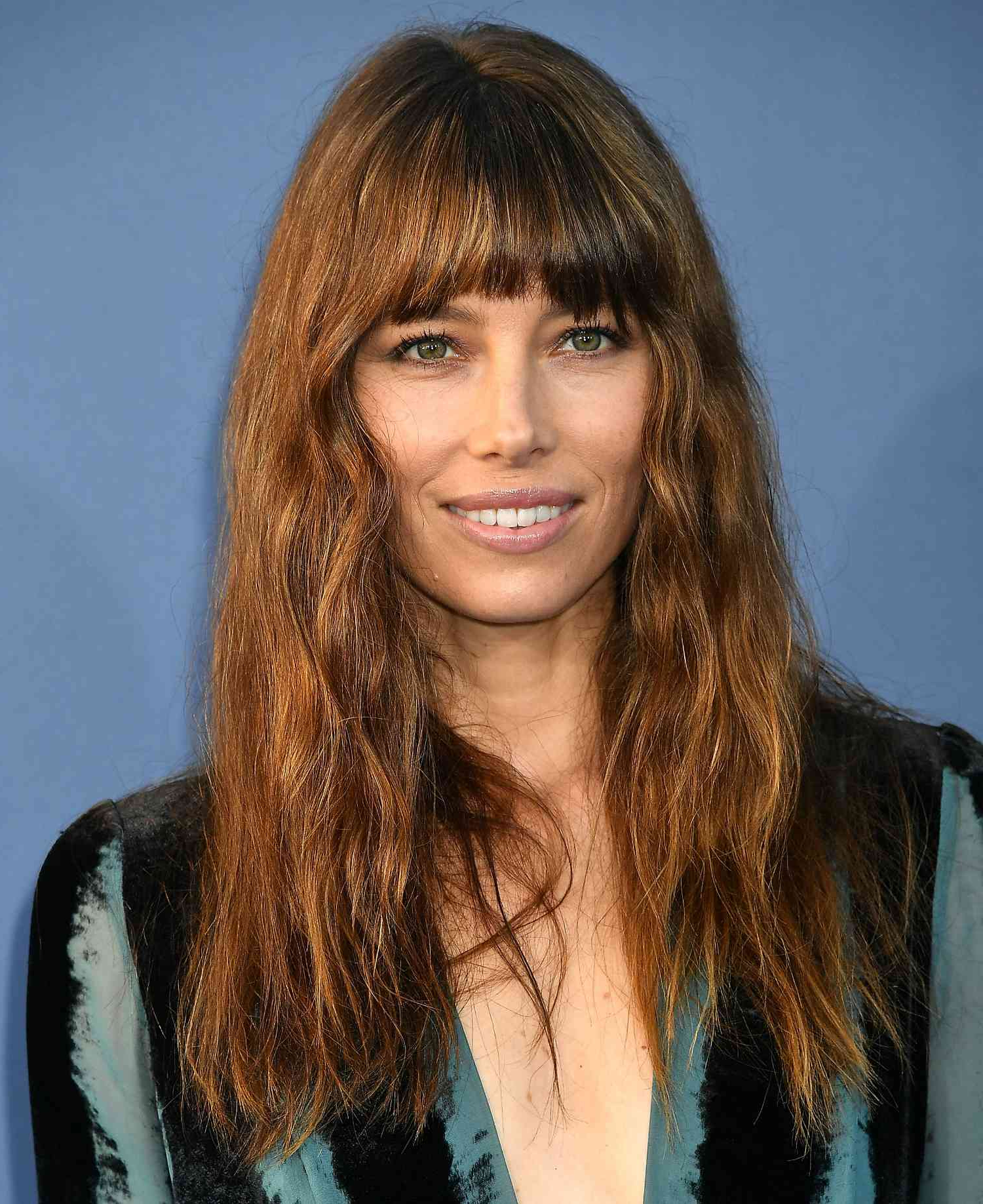 A Gallery Of Hairstyles Featuring Fringe Bangs Intended For Most Current Perfect Bangs And Wild Layers Hairstyles (View 8 of 20)