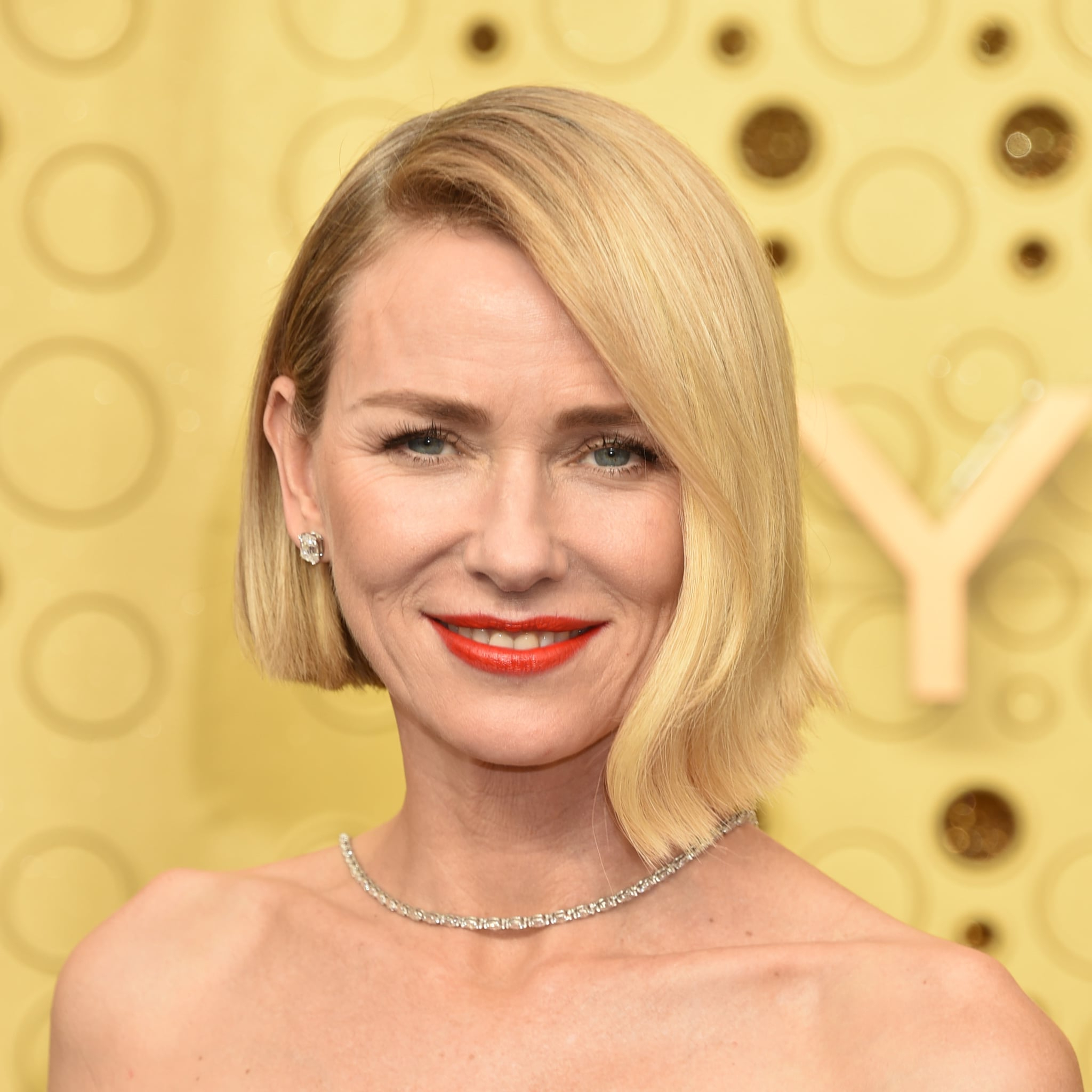 All The Celebrity Bob Haircuts At The Emmy Awards 2019 Regarding Latest Razored Gray Bob Hairstyles With Bangs (View 13 of 20)
