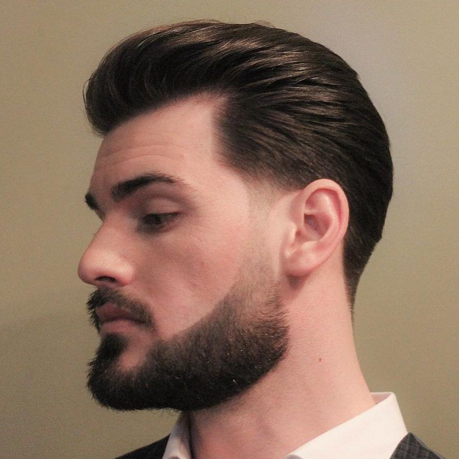 Beard Styles (cool + Modern) | Haircut Styles | Hair, Beard Intended For Pixie Haircuts With Tapered Sideburns (View 8 of 20)
