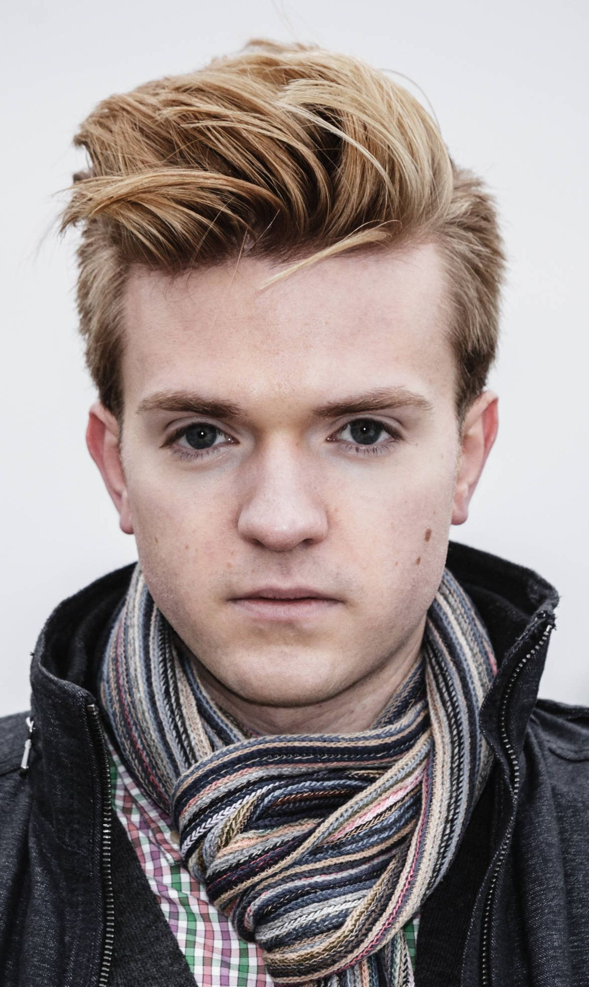 Best 50 Blonde Hairstyles For Men To Try In 2019   Haircuts For Brushed Back Hairstyles For Round Face Types (View 12 of 20)