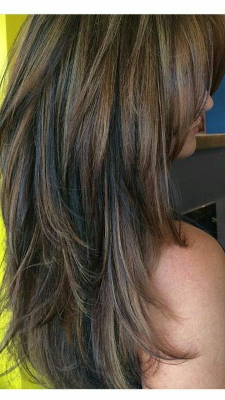 Best And Newest Long Layered Chop Haircuts Throughout H A I R (View 4 of 20)