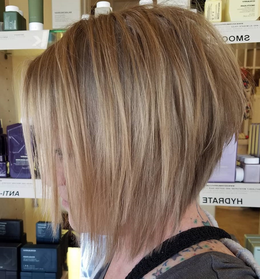 Best And Newest Sliced Platinum Blonde Bob Hairstyles Intended For 30 Classy Hairstyles And Haircuts For Fine Hair To Do In (View 8 of 20)