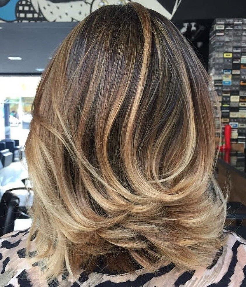 Best And Newest Voluminous Layered Bronde Lob Hairstyles In 80 Sensational Medium Length Haircuts For Thick Hair (View 2 of 20)