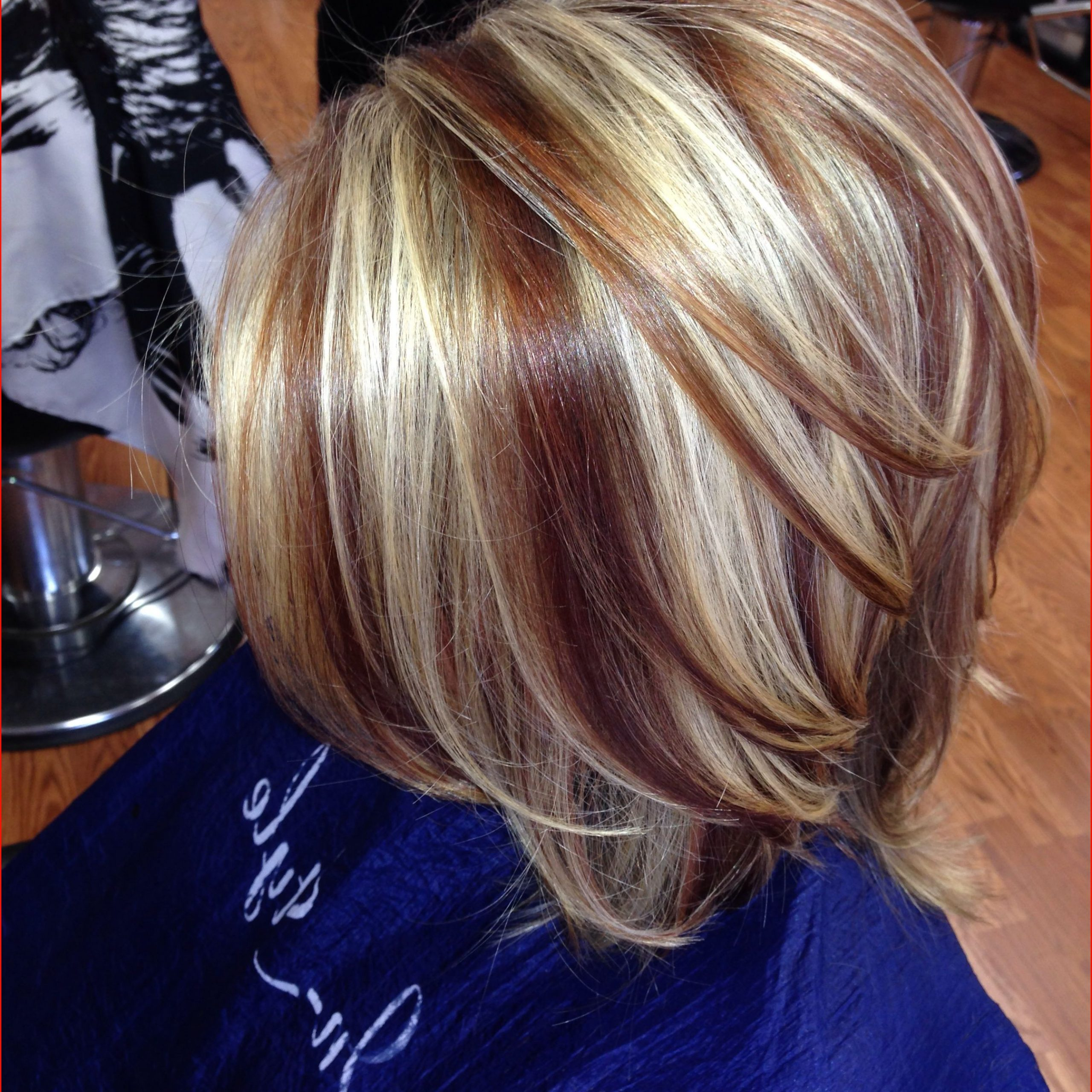Best Fall Hair Colors Short Hair Picture Of Hair Color Inside Well Known Lovely Two Tone Choppy Lob Hairstyles (View 6 of 20)