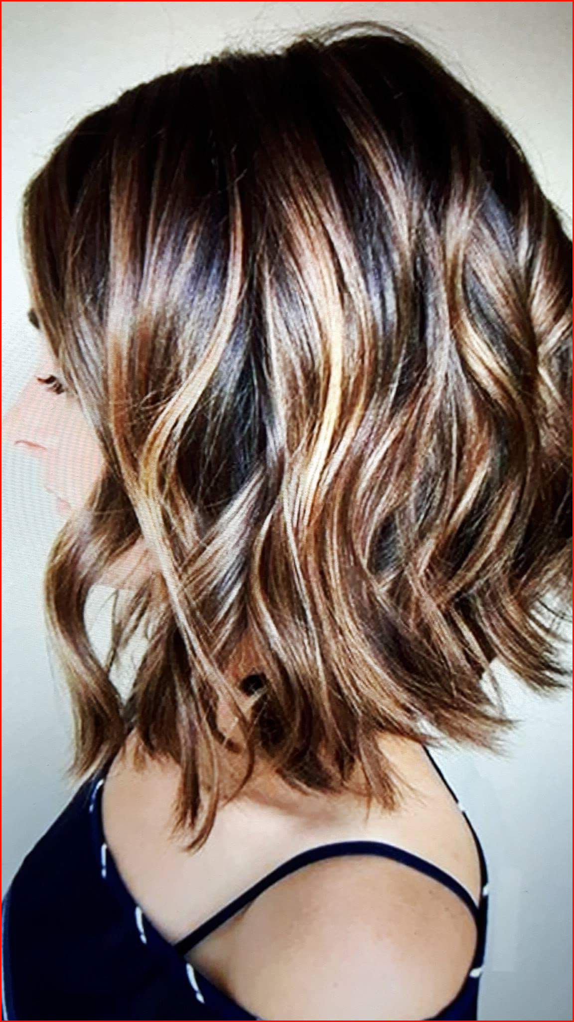 Best Fall Hair Colors Short Hair Picture Of Hair Color Within Fashionable Lovely Two Tone Choppy Lob Hairstyles (View 7 of 20)