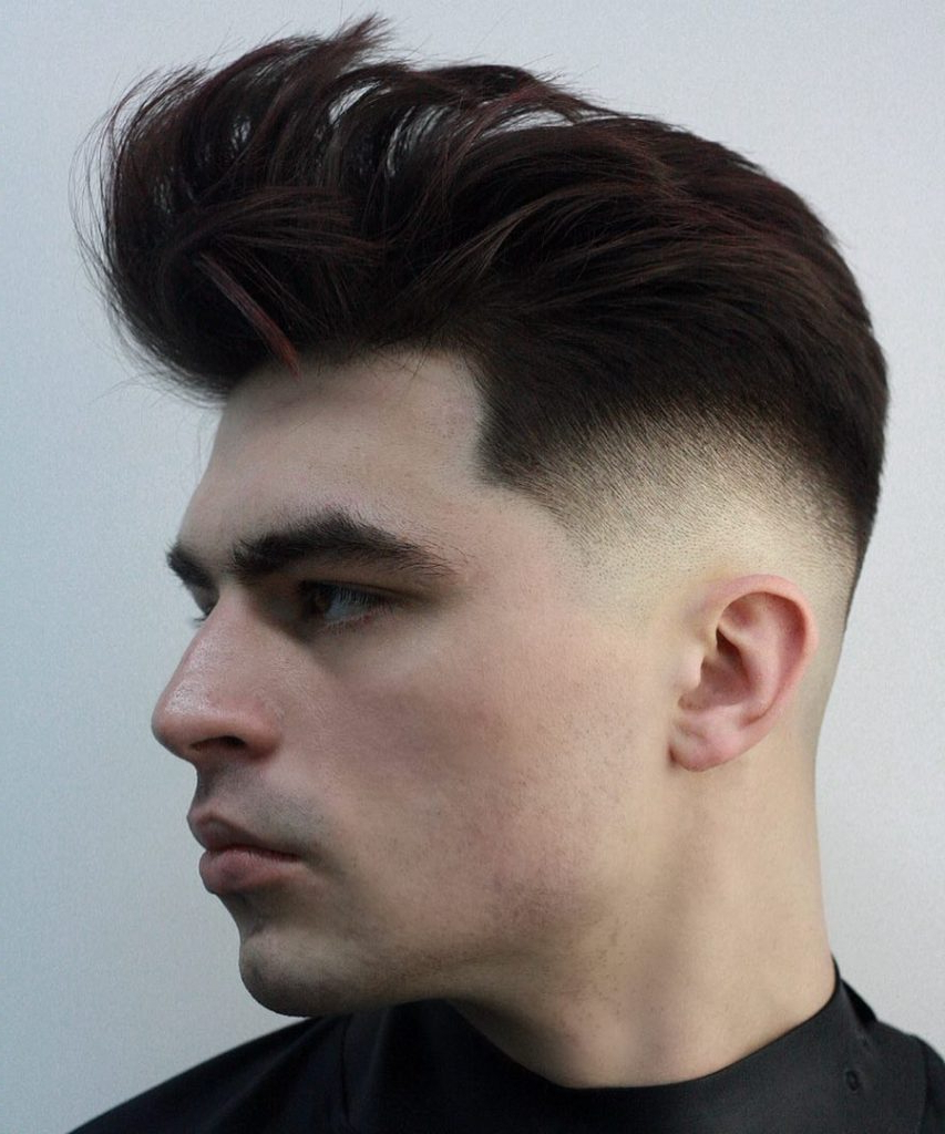 Best Hairstyles For Round Faces For Men For Brushed Back Hairstyles For Round Face Types (View 5 of 20)