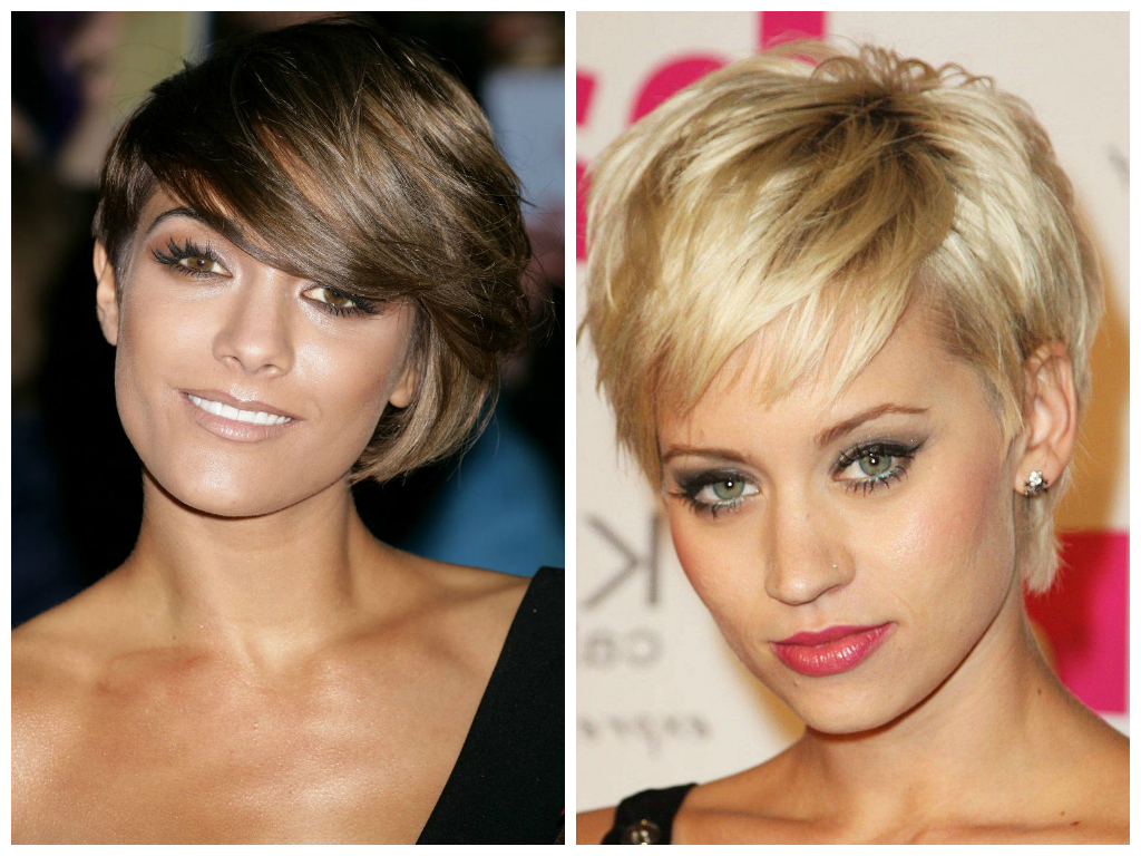 Best Short Hairstyles For Long Faces Throughout Short Flip Haircuts For A Round Face (View 9 of 20)