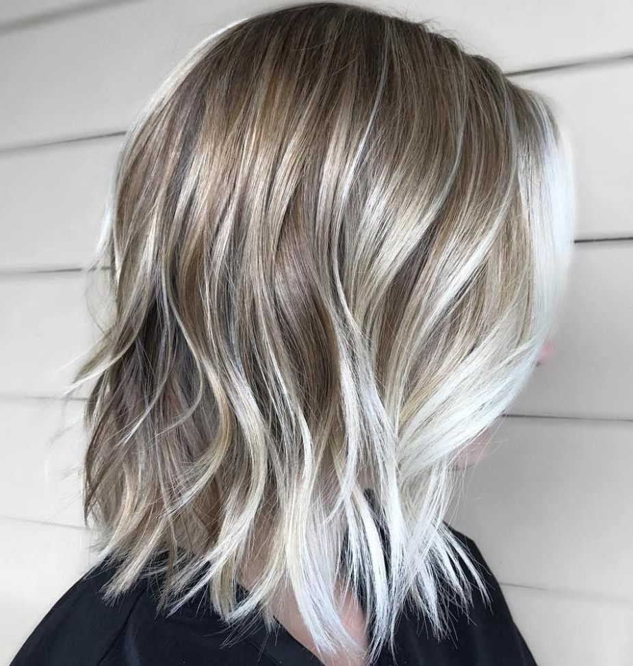 Bob In Widely Used Medium Sliced Ash Blonde Hairstyles (View 4 of 20)