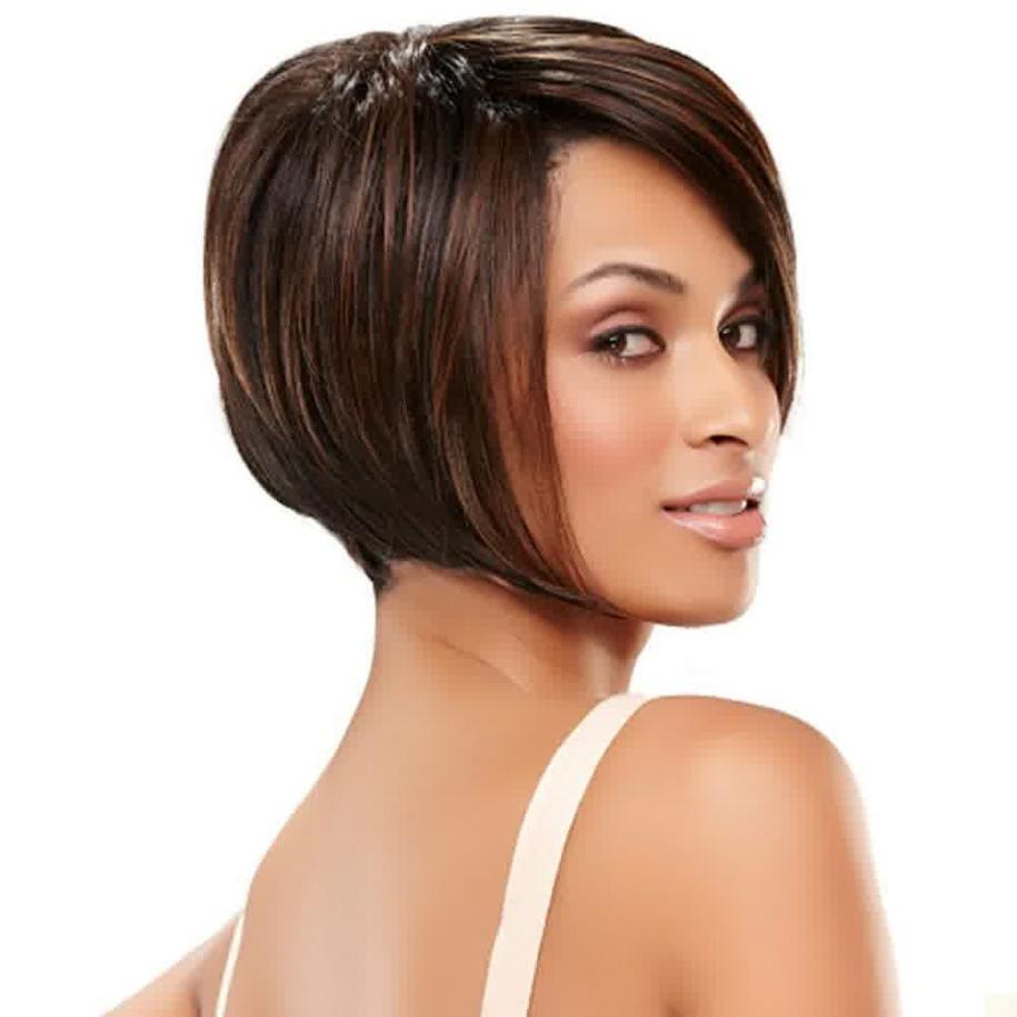 Caramel Blonde Hair Color On Black Girl Short Hair | Rldm Regarding Dark Pixie Hairstyles With Cinnamon Streaks (View 14 of 20)